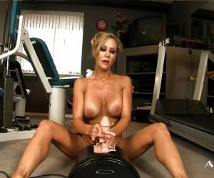 Sexy Brandi Love Loves The Sybian