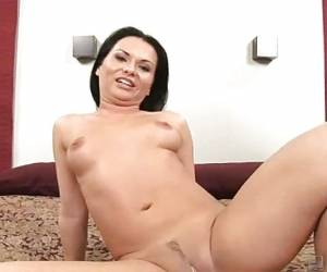 Tight Pussy Brunette Katja Kassin Played On Camera