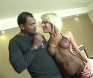 Mature Blonde Wife Cheating Husband Wit