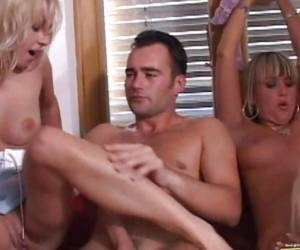 Party Lover Christina Lee Enjoys A Group Fucking Action With Her Nasty Friends