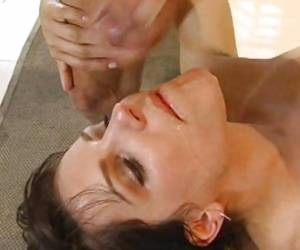 Lovely Babe Bobbi Starr Recieves A Warm Jizz On Her Mouth