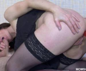 Martha Is A Sexy Anal Milf In Lingerie