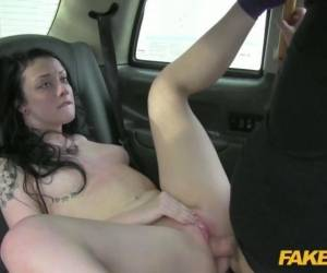 Brunette Tried To Fuck A Driver