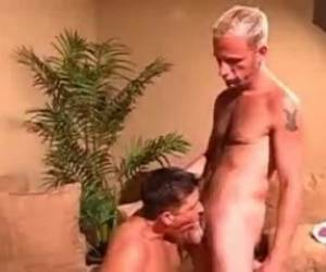 Mature Blonde Rides Cock Blowjob