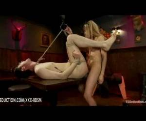 Bondage Guy Gives Blowjob And Gets Fucking In The Ass