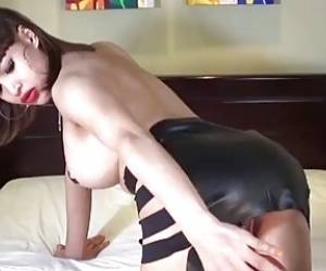 TS Filipina Shemale Cum In Her Boytoy's Mouth