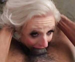 Tranny Huge Self Facial While Fucked By BBC!