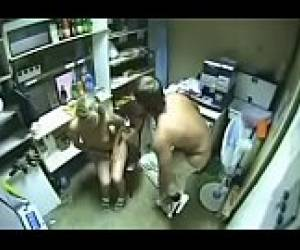 Sex on security cam