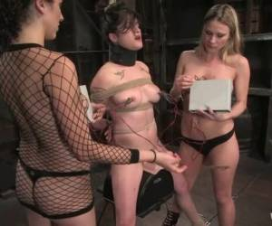 Harmony And Princess Donna Dolore Are Sharing A Sexy Slave