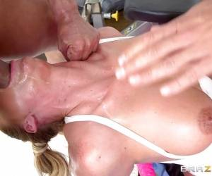 Beautiful Phoenix Marie Oiled Up Balls Deep