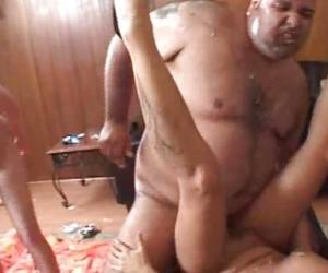 Randy Avy Lee Roth Gets Slammed Up Her Dripping Gash