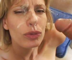 Tantalizing Darryl Hanah Gets A Mouth Full Of Hot Cum