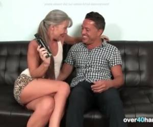 Handjob From A Mature MILF