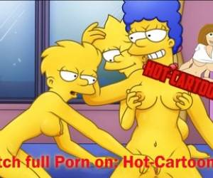 Simpsons Porn #2 Lisa And Marge Have Fun / Cartoon Porn HD
