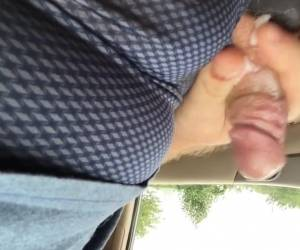 Public Panty Cum In Shelby's Candies