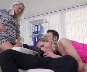 Claudia Macc And Kelly Anderson Have A Monster Dick To Share