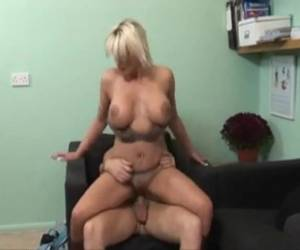 Cum Inside Blonde Milf After Hot Sex