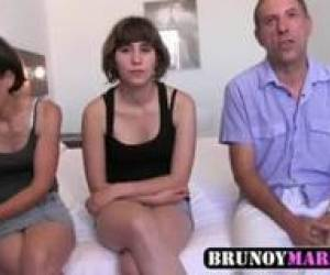 REAL Spanish Incest - Dad, Daughter & Wife