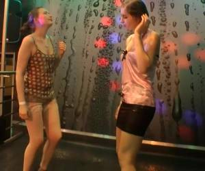 Lilli Vanilli And Daphne Angel Enjoy Dancing During A Sex Party