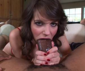 Horny Pornstar Bobbi Starr In Best Interracial, Deep Throat Sex Video