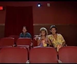 Vintage, Fetish - Tom Byron, Marc Wallace And Martha Mallory In The Cinema.mp4