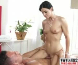 Horrible Not-Mother India Summer Dreams About Slow Cock