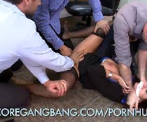 Gangbanging The New Office Slut