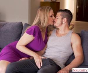 Julia Ann Fucks Spanish Tutor While Son