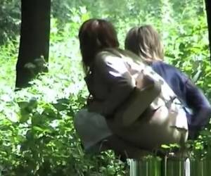 Two Women Caught By Pee Voyeur Pissing