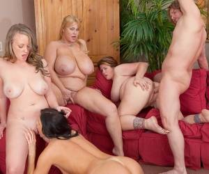 Aliysa Moore & India Summer & Lisa Sparxxx & Samantha 38G In Sister Wives XXX: A Porn Parody - Part 5 - Vivid