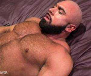 Furry Muscle Bear Gets A DEEP Latino Breeding