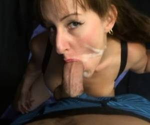 Lelu Love Live POV Blowjob Facial