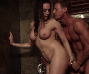 Incredible Shower Fuck With Lovely Brunette MILF Chanel Preston
