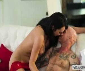 Ts Slut Chanel Makes A Wet Pussy Cum Several Times