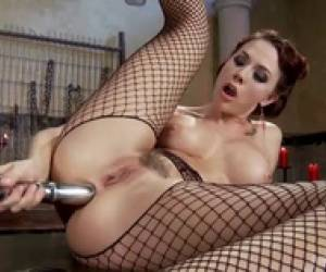 Enthusiastic Anal Lover, Caramel Starr