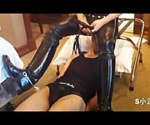 Face Sitting, Trampling And Throat Fucking My Slave 2