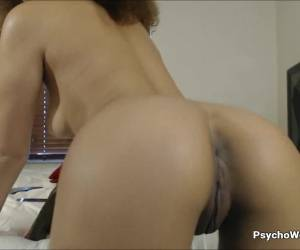 Cute Curly Afro Teen Sloppy Dildo Blowjob And Ride