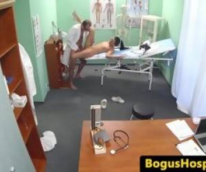 Real Euro Nurse Fucked By Doctor Until Cum