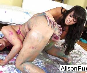 Decorated Lesbians With Alison And Kelly Divine