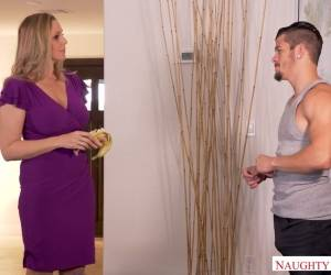 Stunning Step Mommy Julia Ann Fucks Her Kinky And Horny Stepson