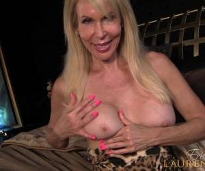 Mature Blonde Erica Lauren Gets Naked For A Solo Sex Session