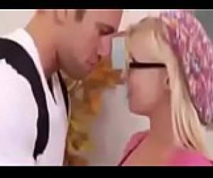 Excited Kiss By Stepmom- Teach Kiss- French Kiss