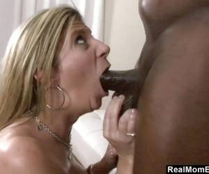 Sara Jay Oiled And Fucked By Big Black Dick