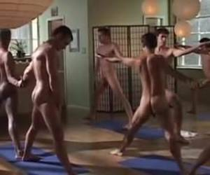 Erotic Gay Couples' Yoga