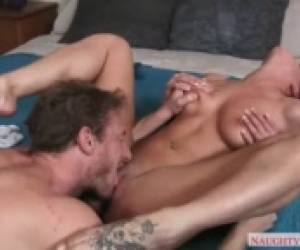 Widow Rahyndee James Loves Lucky Cock