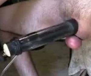 Homemade Milking Machine With Cum