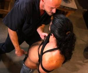 Bound Hunk Tickled And Tugged In BDSM Action