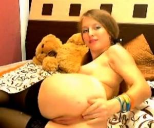 Webcam Russian Blonde Masturbation