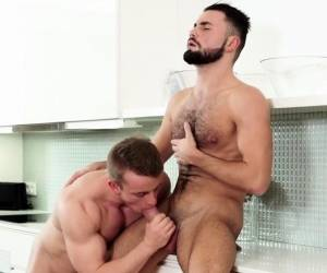 Hot Studs In A Bareback Fuck