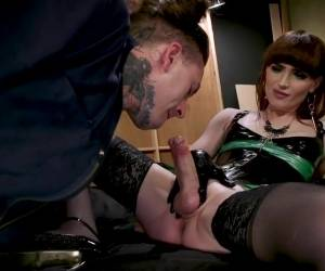 Tattooed Construction Worker Disciplined By TS Natalie Mars